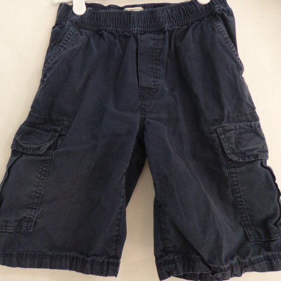 CHILDREN'S PLACE, size 8, navy blue cargo shorts